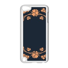 Floral Vintage Royal Frame Pattern Apple Ipod Touch 5 Case (white)