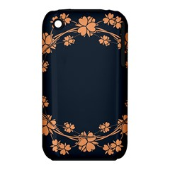Floral Vintage Royal Frame Pattern Iphone 3s/3gs by BangZart