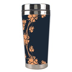 Floral Vintage Royal Frame Pattern Stainless Steel Travel Tumblers