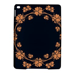 Floral Vintage Royal Frame Pattern Ipad Air 2 Hardshell Cases by BangZart