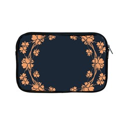 Floral Vintage Royal Frame Pattern Apple Macbook Pro 13  Zipper Case