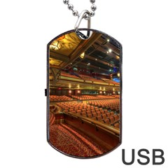 Florida State University Dog Tag Usb Flash (two Sides) by BangZart