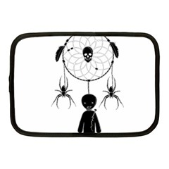 Voodoo Dream Catcher  Netbook Case (medium)  by Valentinaart