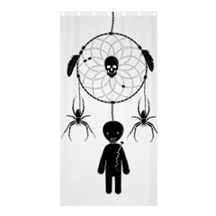 Voodoo Dream Catcher  Shower Curtain 36  X 72  (stall)  by Valentinaart
