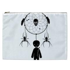 Voodoo Dream Catcher  Cosmetic Bag (xxl)  by Valentinaart