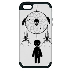 Voodoo Dream Catcher  Apple Iphone 5 Hardshell Case (pc+silicone) by Valentinaart