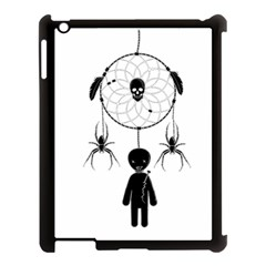 Voodoo Dream Catcher  Apple Ipad 3/4 Case (black) by Valentinaart