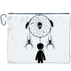 Voodoo Dream Catcher  Canvas Cosmetic Bag (xxxl) by Valentinaart