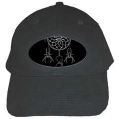 Voodoo Dream Catcher  Black Cap by Valentinaart