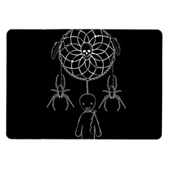 Voodoo Dream Catcher  Samsung Galaxy Tab 10 1  P7500 Flip Case by Valentinaart