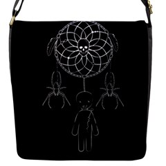 Voodoo Dream Catcher  Flap Messenger Bag (s) by Valentinaart