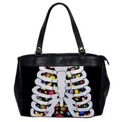 Trick Or Treat  Office Handbags by Valentinaart