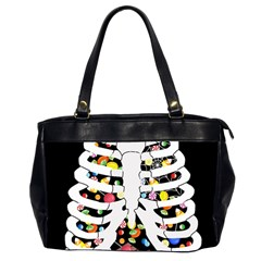 Trick Or Treat  Office Handbags (2 Sides)  by Valentinaart
