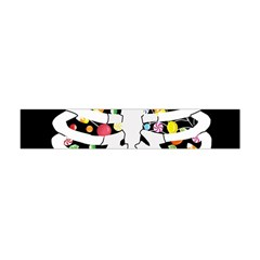 Trick Or Treat  Flano Scarf (mini) by Valentinaart
