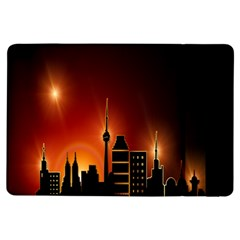 Gold Golden Skyline Skyscraper Ipad Air Flip