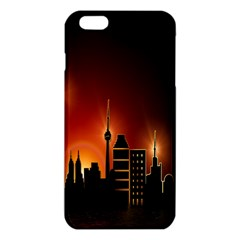 Gold Golden Skyline Skyscraper Iphone 6 Plus/6s Plus Tpu Case