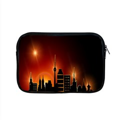 Gold Golden Skyline Skyscraper Apple Macbook Pro 15  Zipper Case