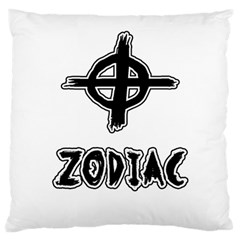 Zodiac Killer  Large Flano Cushion Case (two Sides) by Valentinaart