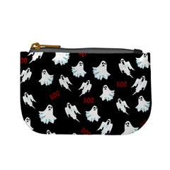 Ghost Pattern Mini Coin Purses by Valentinaart