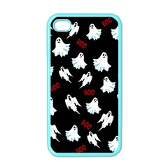 Ghost Pattern Apple Iphone 4 Case (color) by Valentinaart