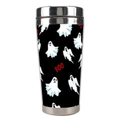 Ghost Pattern Stainless Steel Travel Tumblers by Valentinaart