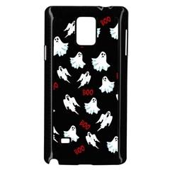 Ghost Pattern Samsung Galaxy Note 4 Case (black) by Valentinaart