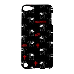 Death Pattern   Halloween Apple Ipod Touch 5 Hardshell Case by Valentinaart