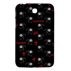 Death Pattern   Halloween Samsung Galaxy Tab 3 (7 ) P3200 Hardshell Case  by Valentinaart