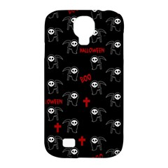 Death Pattern   Halloween Samsung Galaxy S4 Classic Hardshell Case (pc+silicone) by Valentinaart