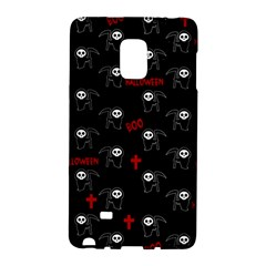 Death Pattern   Halloween Galaxy Note Edge by Valentinaart