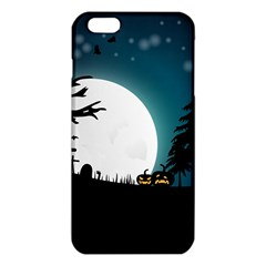 Halloween Landscape Iphone 6 Plus/6s Plus Tpu Case by Valentinaart
