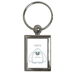 Yeti Key Chains (rectangle)  by Valentinaart