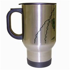 Yeti Travel Mug (silver Gray) by Valentinaart