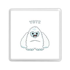 Yeti Memory Card Reader (square)  by Valentinaart