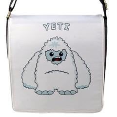 Yeti Flap Messenger Bag (s) by Valentinaart