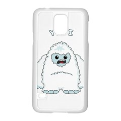 Yeti Samsung Galaxy S5 Case (white) by Valentinaart