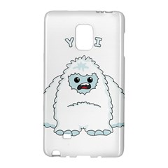 Yeti Galaxy Note Edge by Valentinaart