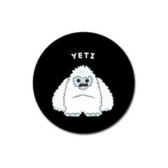 Yeti Magnet 3  (round) by Valentinaart