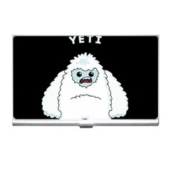 Yeti Business Card Holders by Valentinaart