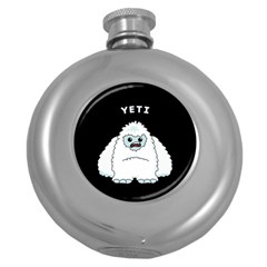 Yeti Round Hip Flask (5 Oz) by Valentinaart
