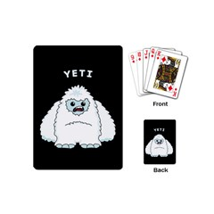 Yeti Playing Cards (mini)  by Valentinaart