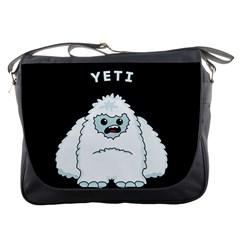 Yeti Messenger Bags by Valentinaart