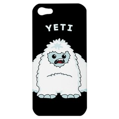Yeti Apple Iphone 5 Hardshell Case by Valentinaart