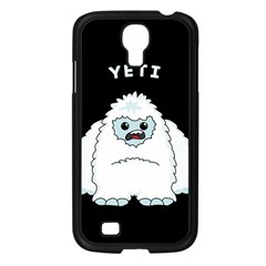 Yeti Samsung Galaxy S4 I9500/ I9505 Case (black) by Valentinaart