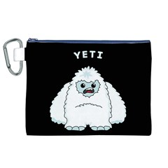 Yeti Canvas Cosmetic Bag (xl) by Valentinaart