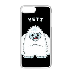 Yeti Apple Iphone 7 Plus White Seamless Case by Valentinaart