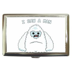 Yeti   I Saw A Man Cigarette Money Cases by Valentinaart