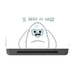 Yeti   I Saw A Man Memory Card Reader With Cf by Valentinaart