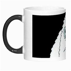 Yeti   I Saw A Man Morph Mugs by Valentinaart