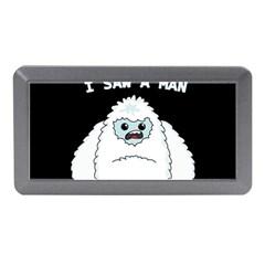 Yeti   I Saw A Man Memory Card Reader (mini) by Valentinaart